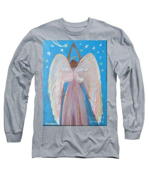 Shooting Star Angel Long Sleeve T-Shirt