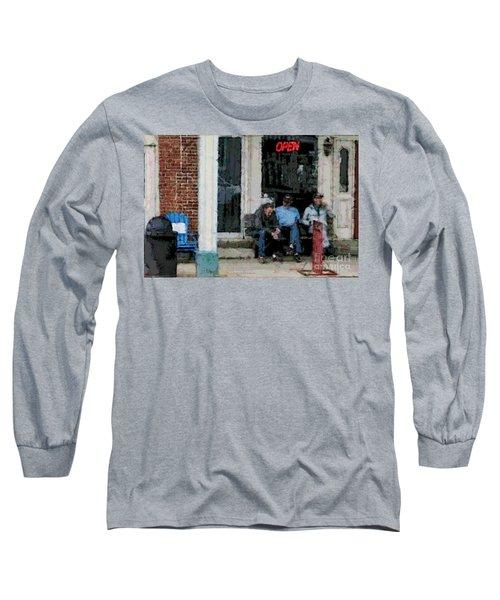 Shooting The Breeze Long Sleeve T-Shirt