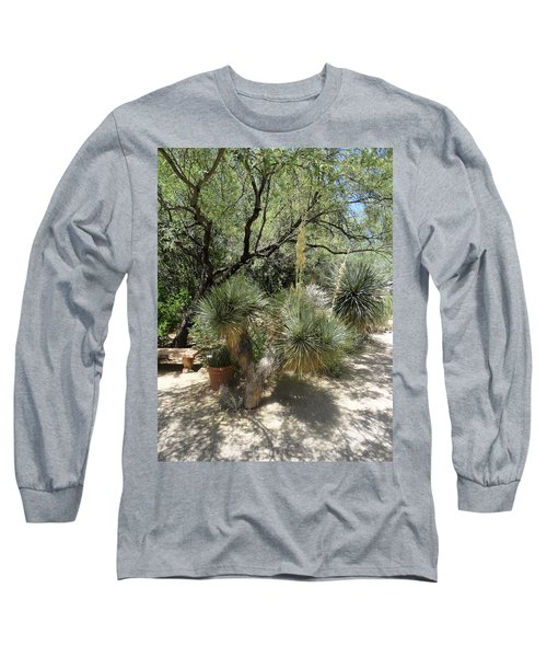 Shooting Up Cactus Garden Long Sleeve T-Shirt
