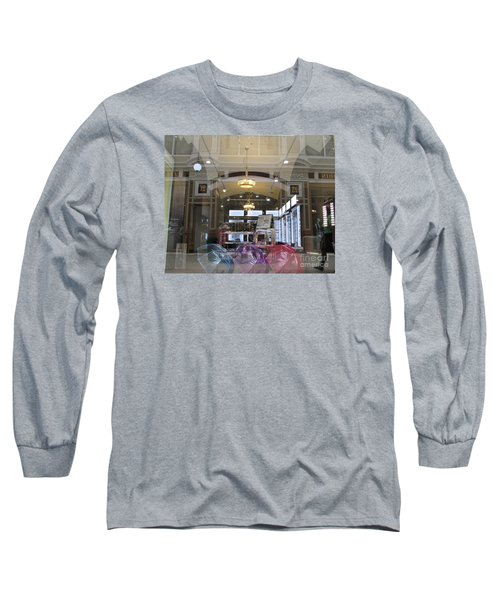 Shop Window  Long Sleeve T-Shirt by Anna Yurasovsky
