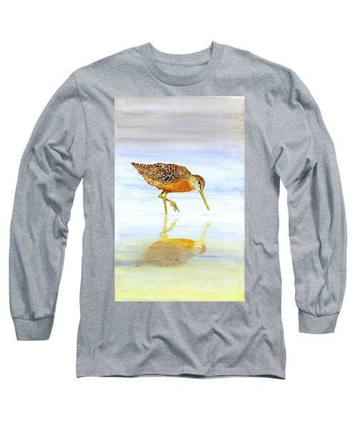 Short-billed Dowitcher Long Sleeve T-Shirt