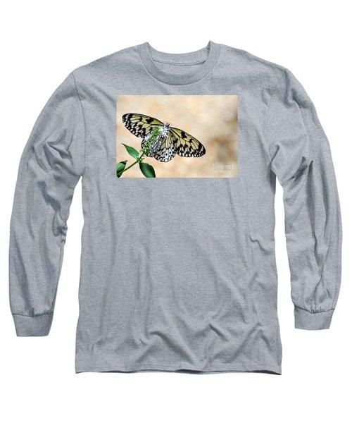 Showy Nymph Long Sleeve T-Shirt by Debbie Green