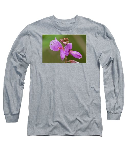 Showy Tick Trefoil Long Sleeve T-Shirt