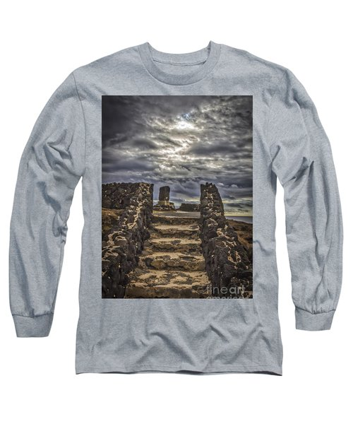 Long Sleeve T-Shirt featuring the photograph Shrine To Drowned Fishermen by Mitch Shindelbower