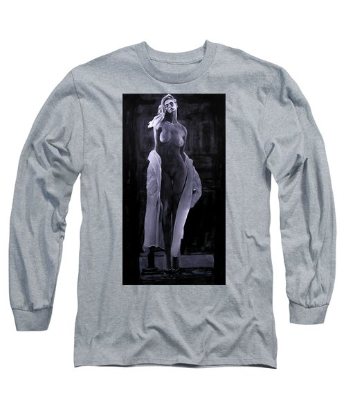 Shudder Before The Beautiful Long Sleeve T-Shirt by Jarko Aka Lui Grande
