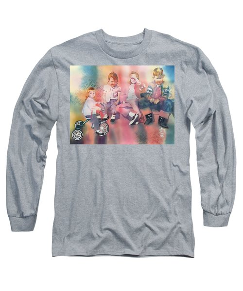 Siblings And Cousins, Circa 1950-1963 Long Sleeve T-Shirt