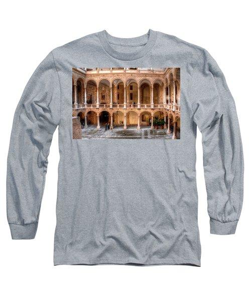 Sicilian Parliament Bldg Long Sleeve T-Shirt