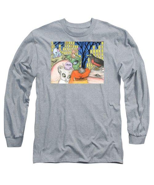 Side Kicks Long Sleeve T-Shirt