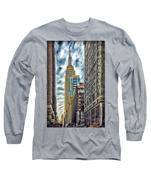 Long Sleeve T-Shirt featuring the photograph Sights In New York City - Skyscrapers 10 by Walt Foegelle