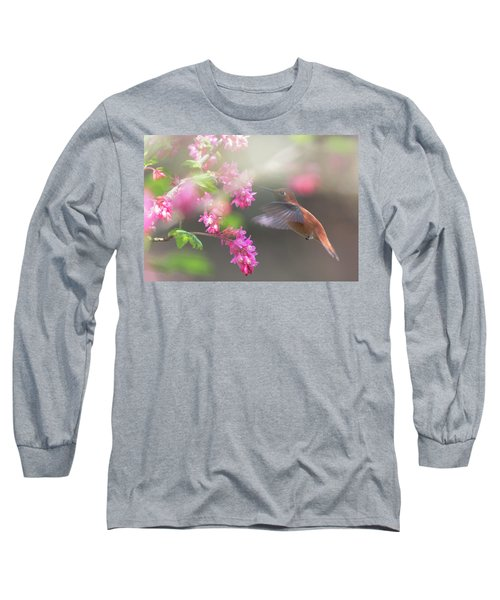 Sign Of Spring 2 Long Sleeve T-Shirt by Randy Hall