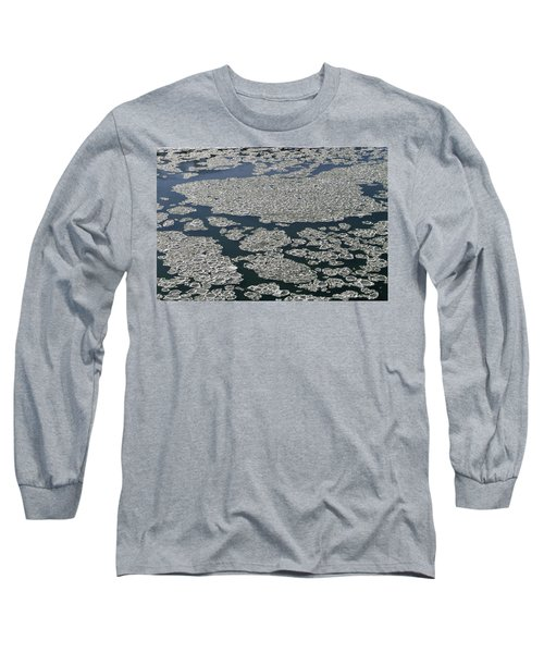 Long Sleeve T-Shirt featuring the photograph Signs Of Winter by Rhonda McDougall