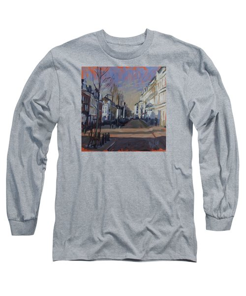Silence Before The Storm Long Sleeve T-Shirt by Nop Briex
