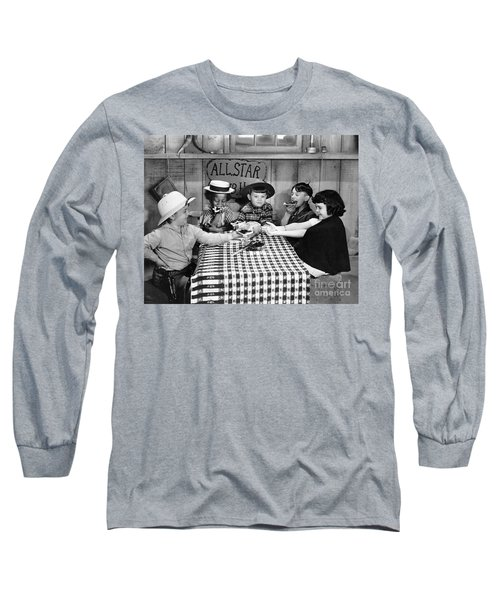 Silent Film: Little Rascals Long Sleeve T-Shirt
