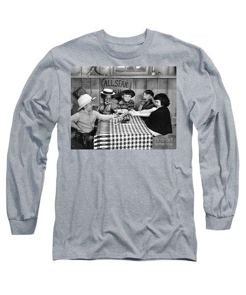 Silent Film: Little Rascals Long Sleeve T-Shirt by Granger