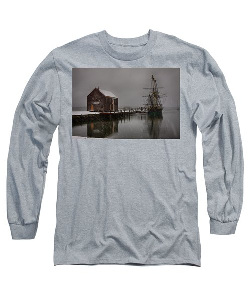 Silently The Snow Falls. Long Sleeve T-Shirt