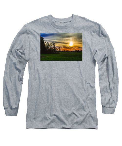 Silhouette And Sunset Long Sleeve T-Shirt