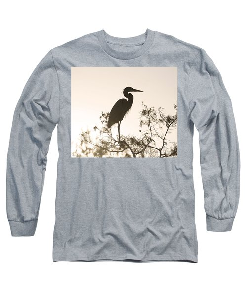 Silhouette In The Sunset Long Sleeve T-Shirt