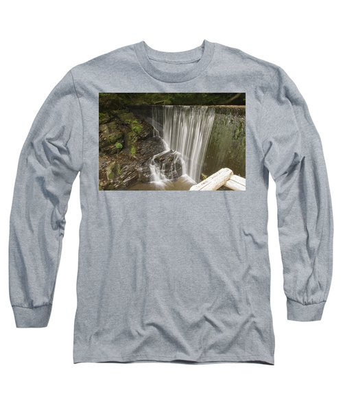 Silk Cascade Long Sleeve T-Shirt