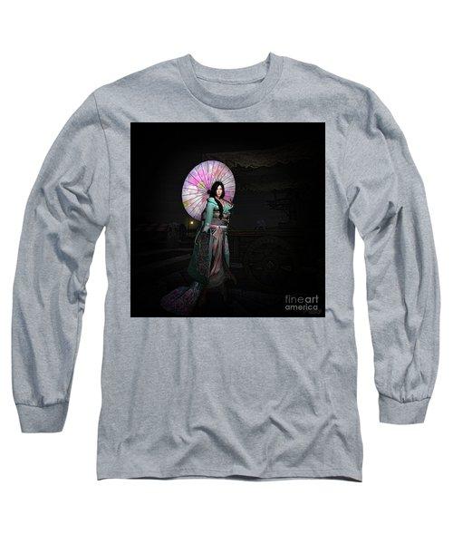Silks And Parasols 2 Long Sleeve T-Shirt