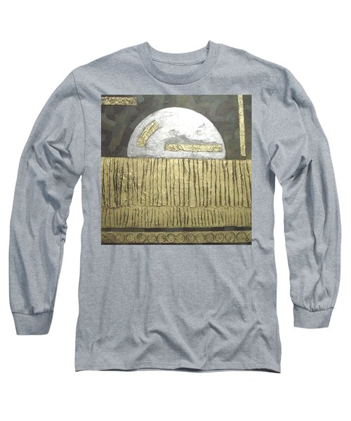 Silver Moon Long Sleeve T-Shirt by Bernard Goodman