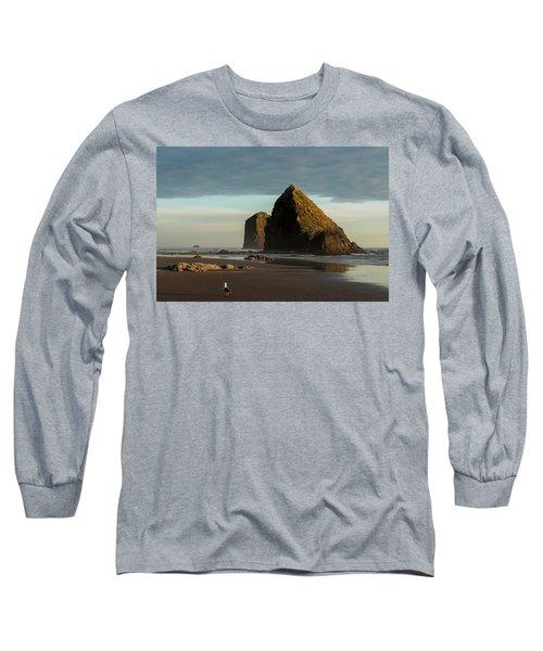 Silver Point Seastacks Long Sleeve T-Shirt
