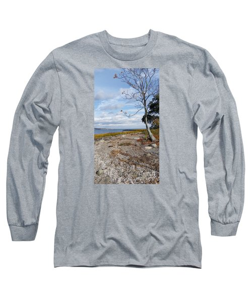 Long Sleeve T-Shirt featuring the photograph Silver Sands by Raymond Earley