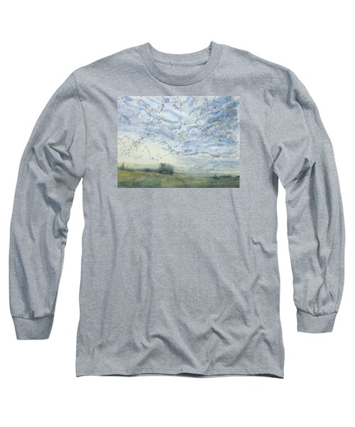 Silver Sky Long Sleeve T-Shirt