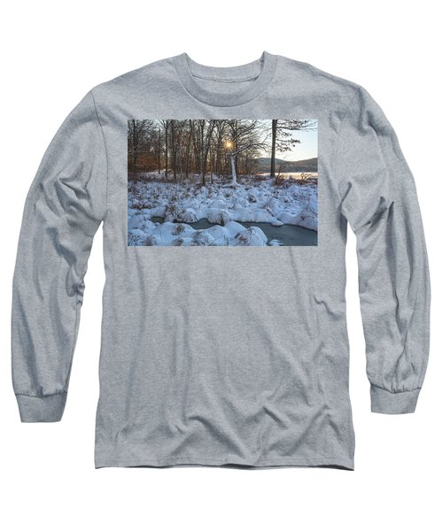 Silvermine Lake Sunburst Long Sleeve T-Shirt
