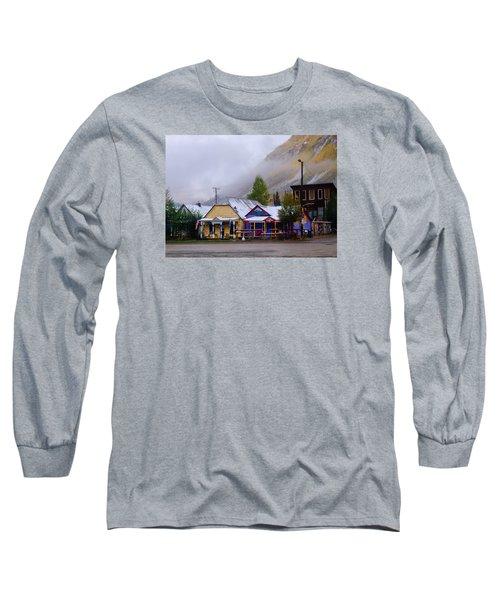 Silverton Back Street Long Sleeve T-Shirt by Laura Ragland
