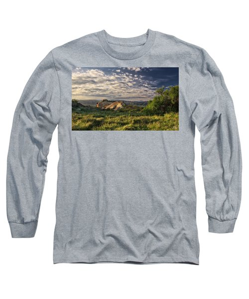 Simi Valley Overlook Long Sleeve T-Shirt by Endre Balogh