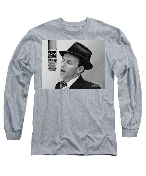 Sinatra Long Sleeve T-Shirt by Paul Tagliamonte