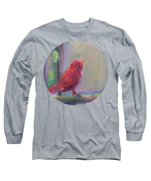 Sing Little Bird Long Sleeve T-Shirt