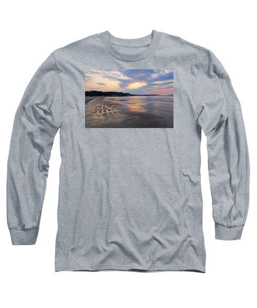 Singing Beach Sandy Beach Manchester By The Sea Ma Sunrise Long Sleeve T-Shirt