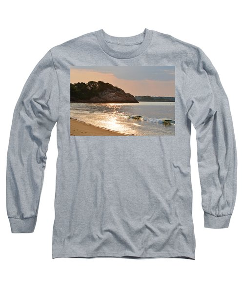 Singing Beach Silver Waves Manchester By The Sea Ma Long Sleeve T-Shirt