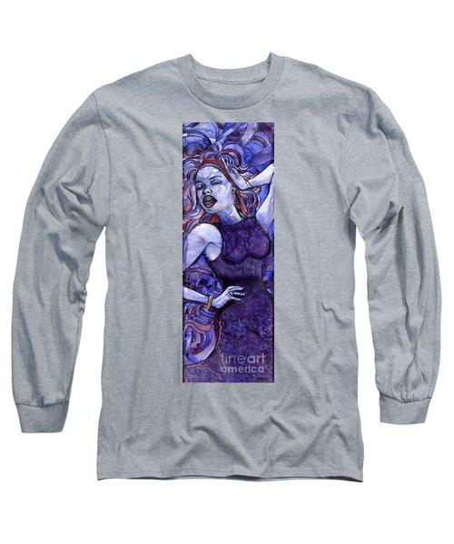 Singing Lady- Jazz Long Sleeve T-Shirt