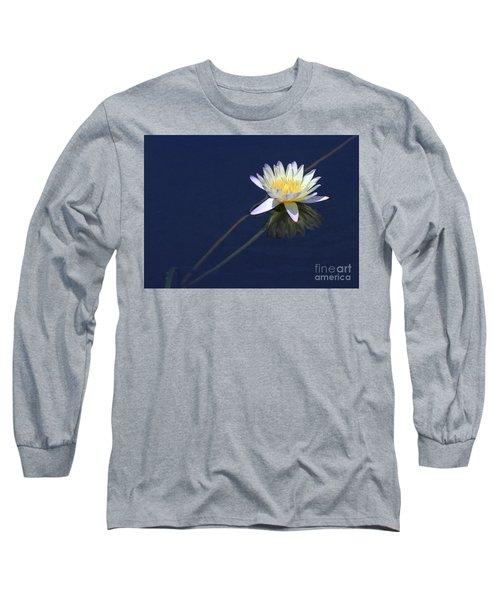 Single Lotus Long Sleeve T-Shirt