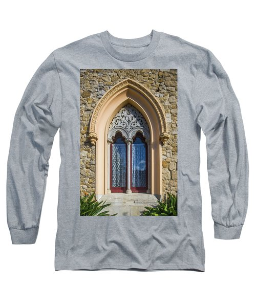 Long Sleeve T-Shirt featuring the photograph Sintra Window by Carlos Caetano