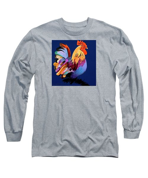 Sir Chanticleer Long Sleeve T-Shirt by Bob Coonts