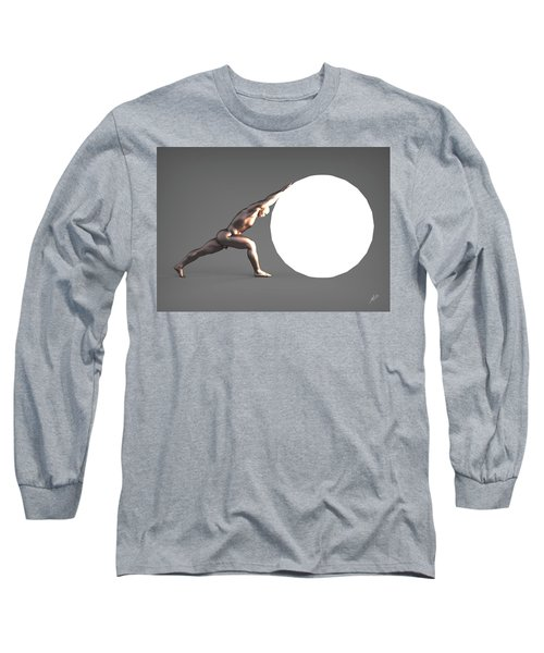 Sisyphus Lamp 06 Long Sleeve T-Shirt