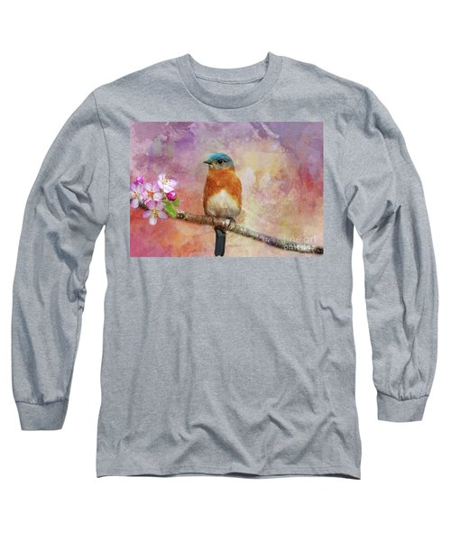 Sitting Pretty Long Sleeve T-Shirt by Geraldine DeBoer
