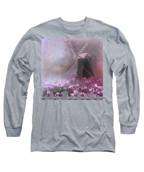 Skagit Valley In Spring Long Sleeve T-Shirt