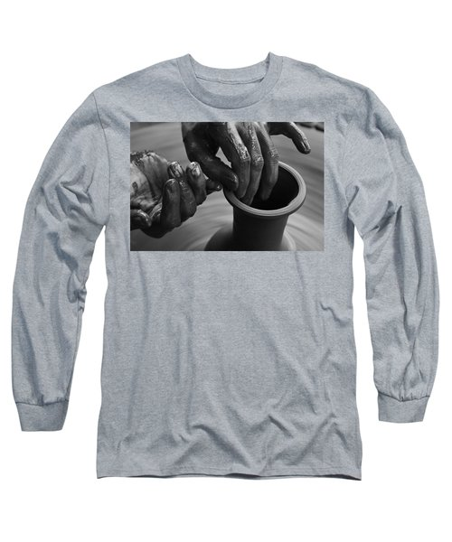 Skc 3471 Finer Touches Long Sleeve T-Shirt by Sunil Kapadia