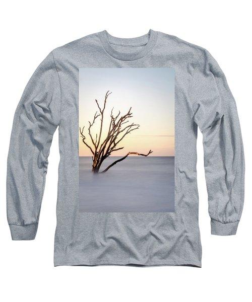 Skeleton Tree In The Ocean Long Sleeve T-Shirt