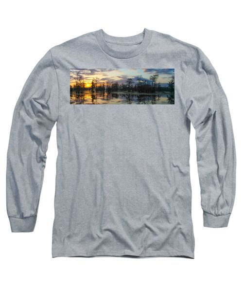 Skies Across The North End Long Sleeve T-Shirt by Kimo Fernandez