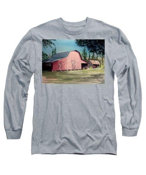 Skip Kelly's Barn Long Sleeve T-Shirt
