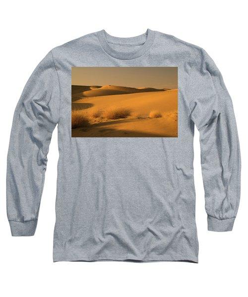 Skn 1124 The Desert Landscape Long Sleeve T-Shirt by Sunil Kapadia
