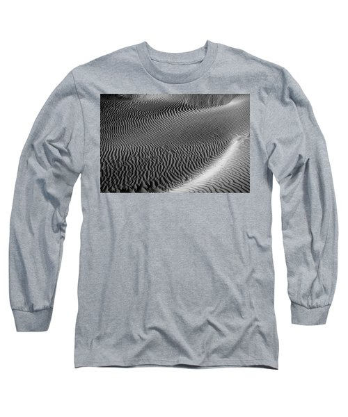 Skn 1129 Corrugation Long Sleeve T-Shirt