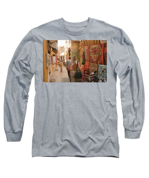 Skn 1226 The Squeezed Lane Long Sleeve T-Shirt