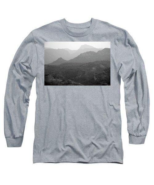 Skn 4443 Rolling Landscape Long Sleeve T-Shirt