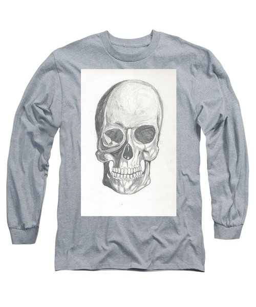 Skull Study 2 Long Sleeve T-Shirt